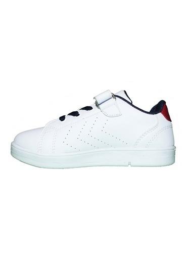 Hummel Çocuk Ayakkabı Busan 212670-9253 Beyaz